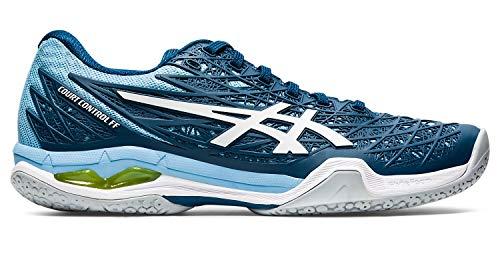 ASICS - Womens Court Control Ff Shoes, Size: 7.5 M US, Color: Mako Blue/White