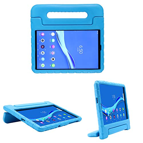 i-original Compatible with Lenovo Tab M10 FHD Plus (TB-X606F/X) 10.3 Inch Case,Shockproof EVA Case for Kids Bumper Cover Handle Stand,Convertible Handle Lightweight Protective Cover (Blue)