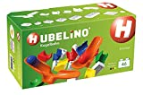 HUBELINO Marble Run - 44-Piece Cradle Chute Expansion Set - the Original! Made in Germany! - Certified and Award-Winning Marble Run - 100% compatible with Duplo