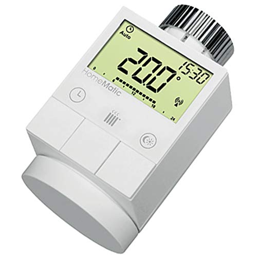 ELV Homematic ARR-Bausatz Funk-Heizkörperthermostat HM-CC-RT-DN, für Smart Home/Hausautomation, Bausatz 1er