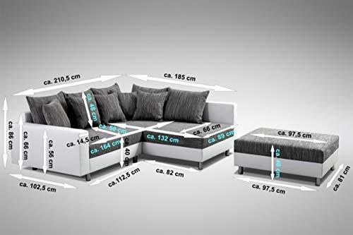 Ecksofa Couch – Küchen-Preisbombe Modernes Sofa Couch Bild 6*