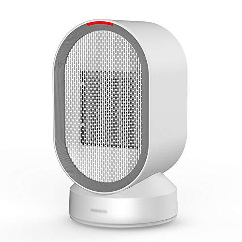 zlw-shop Calefactor Eléctrico Portátil Calentador/Calentador doméstico/Calentador eléctrico Calentamiento de Escritorio de Oficina y refrigeración/Mini Calentador con Cabeza de agitación Calefactor