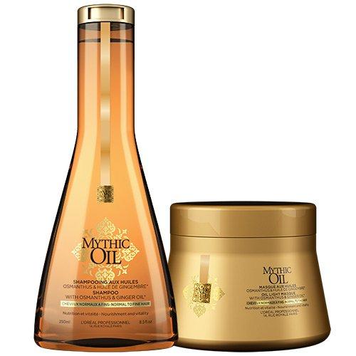 "L'Oréal Professionnel ""Mythic Oil"" Shampoo & Maske, 2-teilig, normales bis feines Haar"