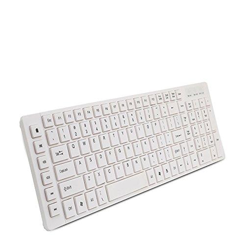Shenqidegong Mechanische Spiel Tastatur, Wasserdichte Tastatur Kann Angepasst Werden Multimedia-Funktionstasten, Geeignet Für Computer/Desktop/PC/Laptop/Smart-TV