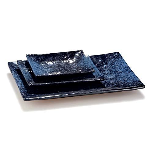 Pujadas P22.782 Elegance Plateau de présentation rectangulaire en mélamine 35 x 25 cm Hauteur 4 cm