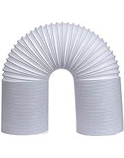 Raamafdichting voor mobiele airconditioners,afvoerslang | Draagbare Airconditioning Slang | Ontluchting Kanaal Slang Uitbreiding 5,9 inch Diameter met Lengte 59 inch/150 cm