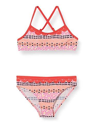 Schiesser Bustier-Bikini Set Costume da Bagno, Multicolore (Multicolor 1 904), 140 Bambina