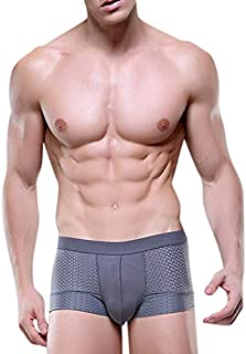 RONSHIN Men Sexy Hollow Underpants Soft Boxer Breathable Underwear Short Pants