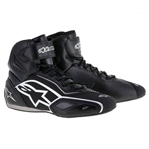 Alpinestars Faster -2 - Zapatillas 12 (45,5), Color Negro y Plateado