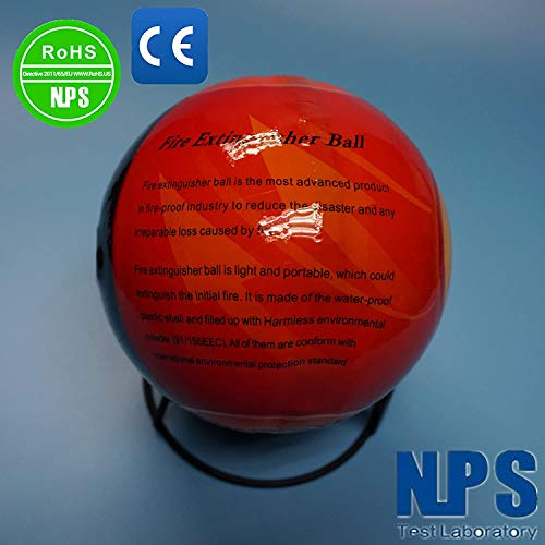 Automatic Self-Activation Fire Extinguisher Ball Fire Suppression Device (5pcs)