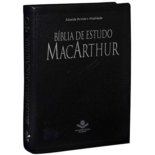 Biblia De Estudo - Macarthur (Couro Sintetico)