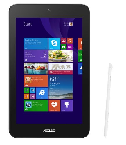 Asus VivoTab 8 M80TA-DL006H 20,3 cm (8 Zoll) Tablet-PC (Intel Atom Z3740, 1,3GHz, 2GB RAM, 32GB HDD, Intel HD, Win 8) weiß