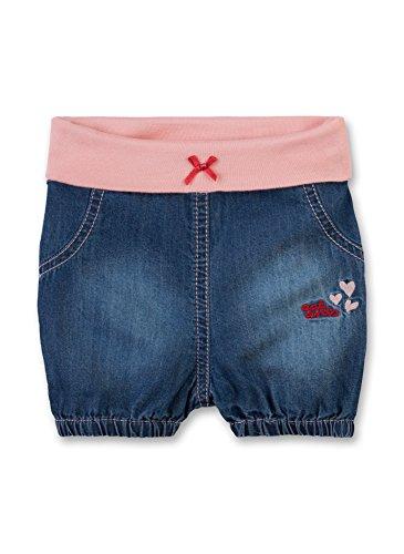 Sanetta (Eat Ants Baby Mädchen Kurze Jeans 114015 in blau (Blue Lagoon 9566), Kleidergröße:56, Farbe:blau (Blue Lagoon 9566)
