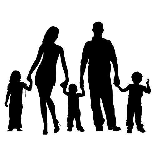 Zemn Sticker Mural Mural Famille Personnalité Combiné Autocollants De Voiture Élégante Couverture De Voiture Scratch Décoratif Stickers Accessoires @ A