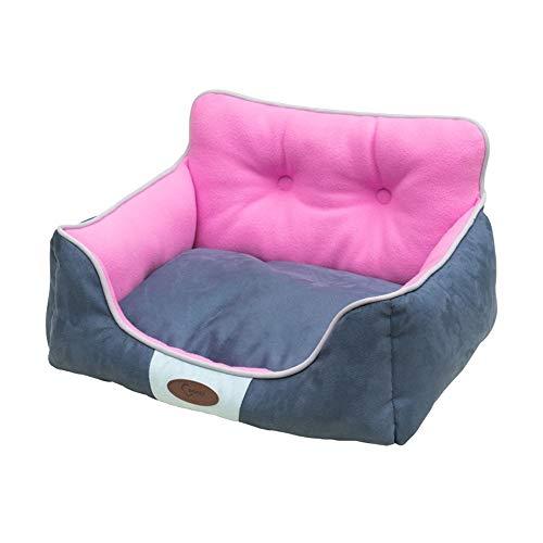 Comfortabele Huisdieren Bed Portable Pet hondenmand Bolster Bed's Pet Nesten Tent bedden for de meeste Sized Huisdieren Huisdieren benodigdheden (Size : M)