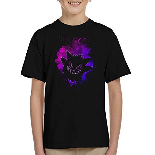 Cloud City 7 Soul of The Ghost Gengar Kid's T-Shirt