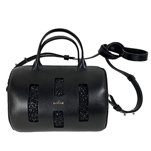Hogan D59 borsa donna black leather mini bag women [ONE SIZE]