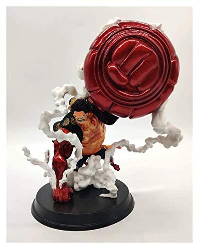 XIAOGING Una Sola Pieza, Super Gigante Luffy, Rey Mono Lanza, Cuatro Gear Luffy, Estatua en Caja Imagen