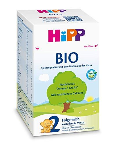 Hipp Bio 2 Folgemilch - ab dem 6. Monat, 2er Pack (2 x 600g)
