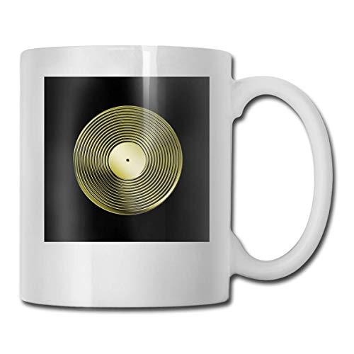 N\A Disco LP Vinilo - Metálico - Vasos Cerámicos Dorados Código 330ml