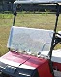 Buggies Unlimited EZGO Marathon Golf Cart Fold Down Windshield (Fits 1986-1994) (Clear)