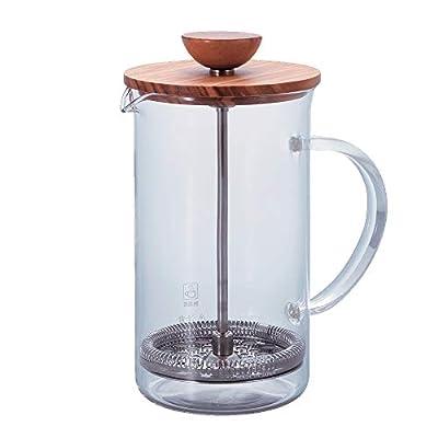 Hario Olivewood Coffee and Tea Press, 600ml