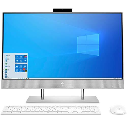 HP 27-dp0076ns – Computer da tavolo All-in-One 27 Full HD (Intel Core i5-10400T, 16 GB RAM, 512 GB SSD, Intel UHD, Windows 10 Home 64) Argento (Tastiera spagnola)