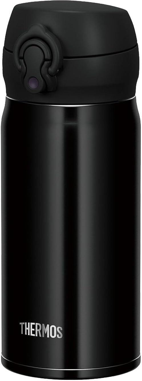 間接的代数的後ろ、背後、背面(部サーモス 水筒 真空断熱ケータイマグ 【ワンタッチオープンタイプ】 350ml ジェットブラック JNL-353 JTB