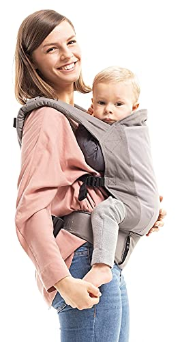 Boba Baby Carrier Classic 4GS - Backpack or Front Pack Baby Sling for 7 lb Infants and Toddlers up to 45 pounds (Dusk)