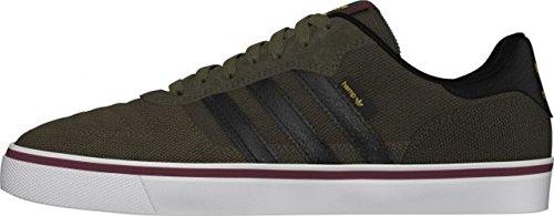 adidas Herren Sneaker, Braun/Schwarz/Gelb, 44 EU