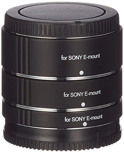 Walimex 20796 Cable para cámara fotográfica, Adaptador - Adaptador para Objetivo fotográfico (Negro, Sony E)