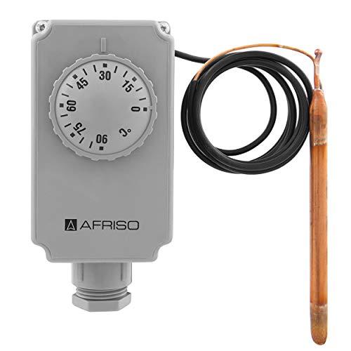 Afriso A67424X GTK Gehäusethermostat mit Kapillarleitung 2000 mm, Temperaturregler