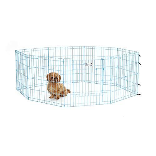Price comparison product image MidWest Homes for Pets Folding Metal Exercise Pen / Pet Playpen