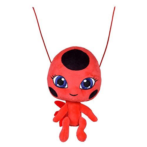 BANDAI Miraculous Ladybug – Plüschtier 15 cm – Tikki – P50691