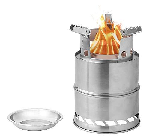 Estufa De Leña Al Aire Libre, Estufa De Leña Plegable De