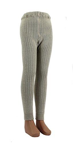 Shimasocks Baby Kinder Leggings Wolle, Farben alle:beige, Größe:86/92