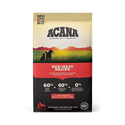 Acana Grain Free Dog Food, Red Meat,...