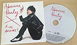 Adrienne Pauly - A vos Amours! 10-titres - CD - PROMOTIONAL ITEM