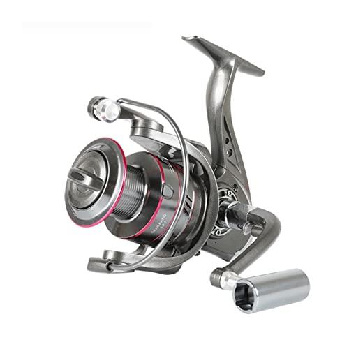 XUJIEI Yo1000-6000 Reel de Giro 5.2: 1 5-1 2kg MAX Drag Metal Treol Metal Knob Spinning Pesca Reel Rueda de Pesca (Spool Capacity : 2000 Series)