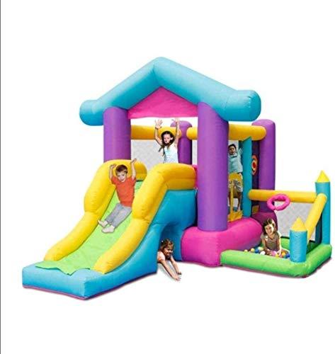 Dmqpp Keine Marke Planschbecken for Hüpfburg und Rutsche/Outdoor-S Slide/Home Platz Trampolin/Kindergarten Spielzeug Platz/Außenhandel Trampolin/Kinder
