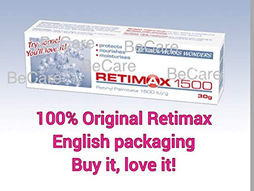 RETIMAX 1500 Vitamin A, Retinol, Protective Ointment, Anti-Ageing 30g