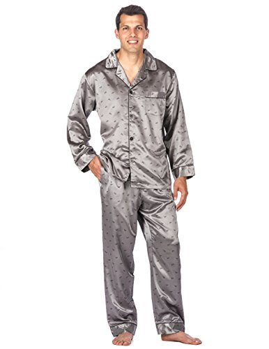 Noble Mount Satin Pajamas for Men - Silky Pajama Set for Men
