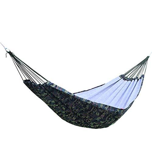 BJYG Hamac de Camping en Plein air - Survie et Voyage de Sac à Dos extérieur intérieur Portable, Escalade en Montagne, Cour, Plage, Voyage.