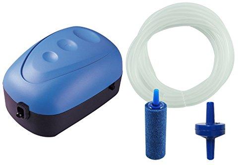 BPS BPS-6029 Luftpumpe / Kompressor / Sauerstoffpumpe, mit Schlauch und Diffusor