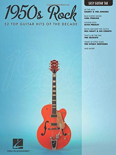 1950s Rock Songbook: Easy Guitar with Notes & Tab (Easy Guitar Tab)
