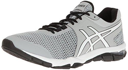 ASICS Men's Gel-Craze TR 4 Cross-Trainer Shoe, Mid Grey/White/Black, 12.5 M US