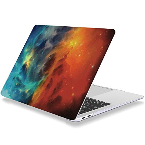 Laptop Case for Macbook Pro 15 Inch 2019 2018 2017 2016 Release A1707 A1990 Plastic Hard Shell Cover Compatible with MacBook Pro 15' with Touch Bar Vast Universe