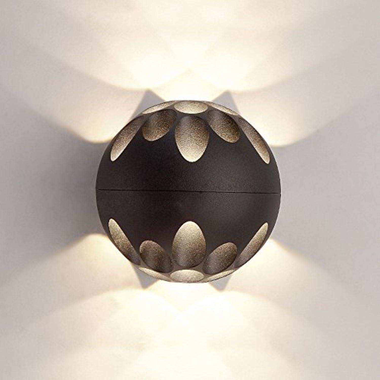 Moderne LED Creative Bedside Schlafzimmer Eisen Wand Lampe Nordic Aisle Wohnzimmer Restaurant Personalisierte Mode Einfache Wand Licht (design   2)