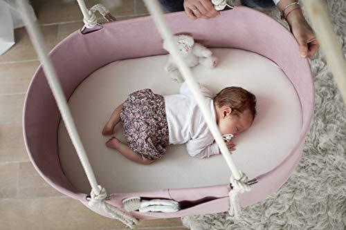 Babywiege Decke Montiert (Pink)