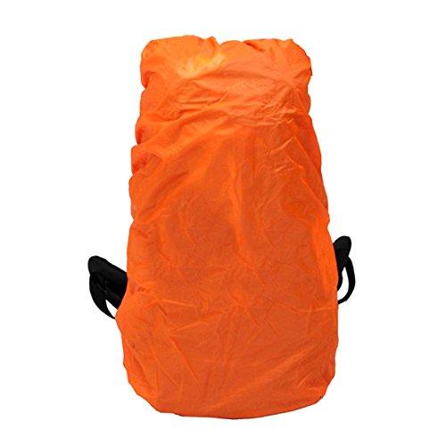 VORCOOL Housses de Sac Imperméable Couvertures pour Poche Sac à Dos 50-80L (Orange)
